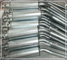 Galvanized Motorcycle Exhaust Muffler
