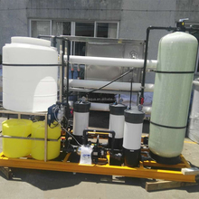 yacht pure drinking water system sea water ro desalination plant