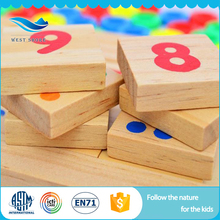 High Quality Food Grade Educational montessori materials educational games math preschool indoor play equipment