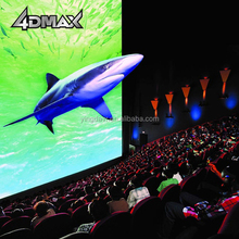 Motion code technology 4d 5d motion cinema with special effects