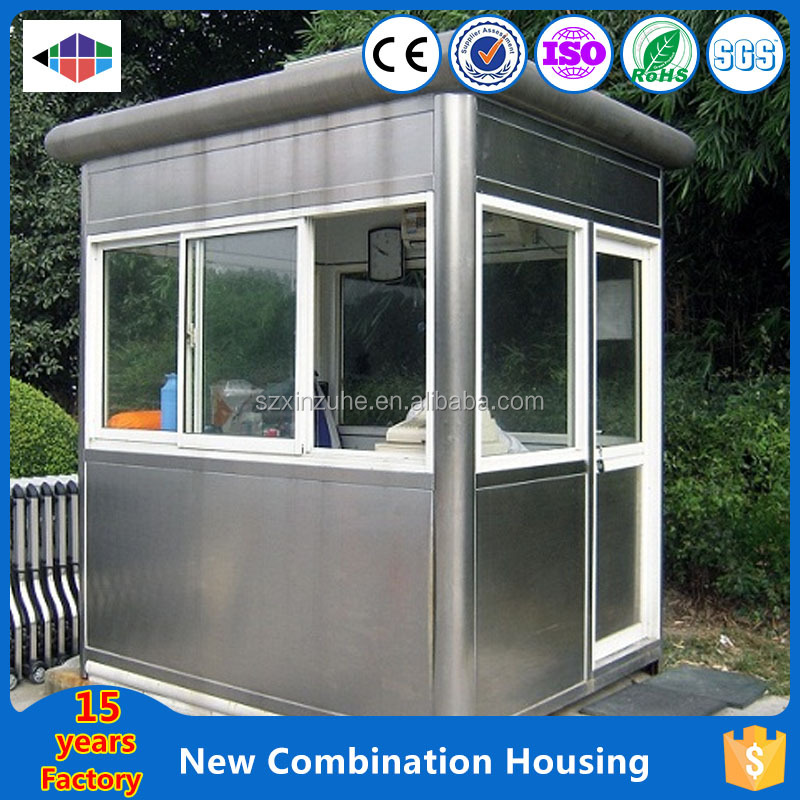 Professional 20feet container house with colorful painting 40feet container