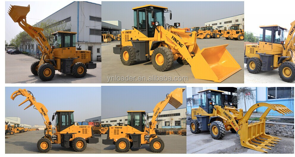 Mini small tractor backhoe loader / high capacity loader for sale