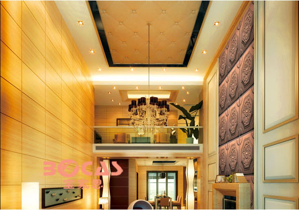 stylish modern cheap decorative acoustic ceiling board