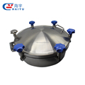 Sanitary Stainless Steel Circular Manhole Cover With Pressure
