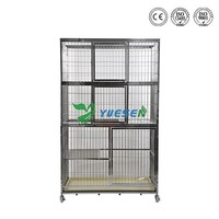 High Quality Steel Wire Metal Pet Large Steel Dog Pet Cage For Sale