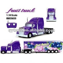 1:38 4 Channels RC Fruit Truck Remote Control Truck Trailerrc 4 Wheel Drive Trucks