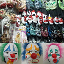 Good Quality Plastic Vinyl latex halloween clown mask