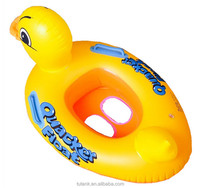 Duck PVC Inflatable Swimming Rings With Handle For Kid