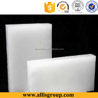 25kg carbon White slab cheap paraffin wax for candle making