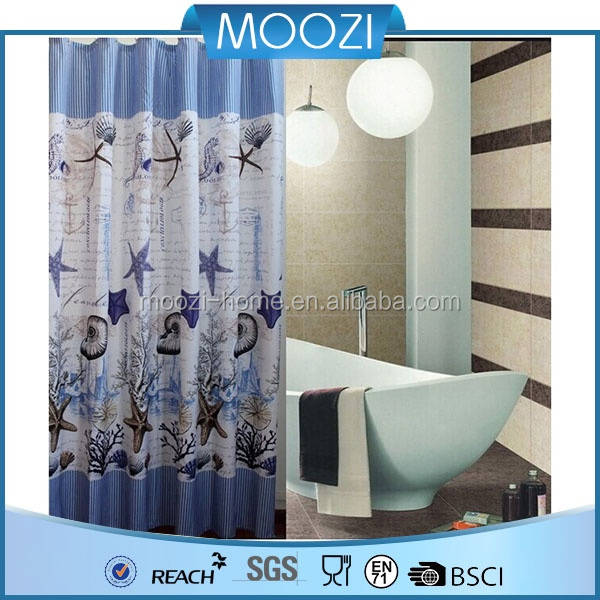 100 Polyester Shower Curtain New Design Buy Polyester