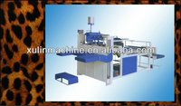 corrugated cardboard making machine folder gluer pating machine