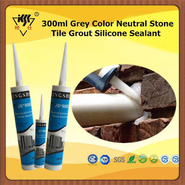 300ml Grey Color Neutral Stone Tile Grout Silicon Sealant