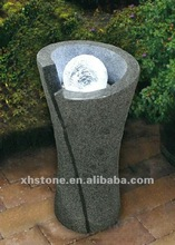 Natural Stone Hand Carved Garden and Outdoor Decorative Modern Water Fountain Led Light (24 years factory)
