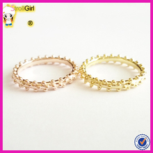 925 solid sterling silver bubble ring jewelry gold plated silver ring costume jewelry manufacturer thainland