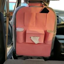 Hot selling cheap custom design felt car back seat organizer