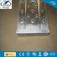 leading steel pipe factory galvanized scaffolding walk board with a professional service