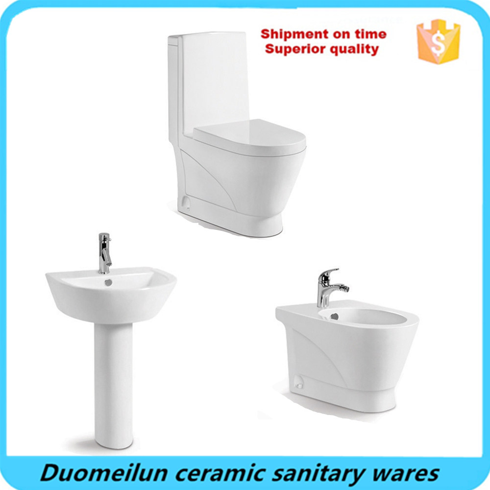 China suppliers sanitary wares one piece toilet in toilets