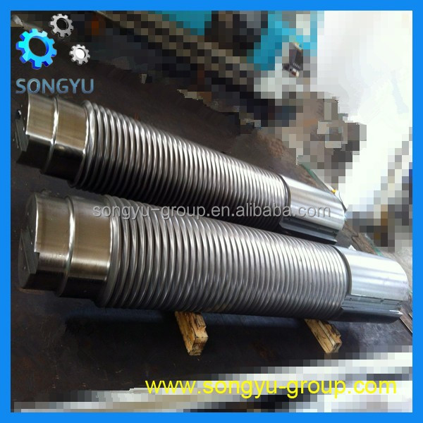 precise machining stainless steel 316 screw shaft