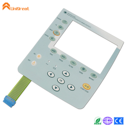Carbon pill silicone rubber membrane switch keyboard keypad panel pad remote control pad keypad