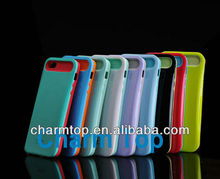 Night Glow Luminous Two Tone Jelly Case For iPhone 5