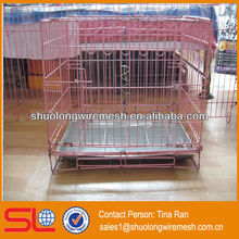 Hebei Shuolong BV Company supply portable wire metal pet cages/expanded metal dog cage