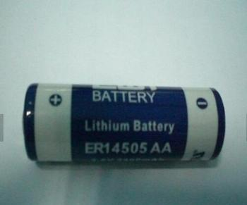 ER14505H ER14505M Li-ion AA size 3.6v 1800Mah Cylindrical Primary Lithium battery for heat meter