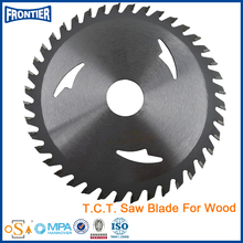 Newest latest double teeth wood cutting tct saw blade