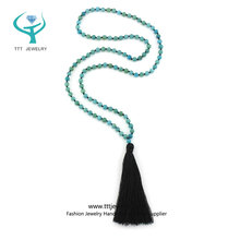 Mala Beads for Fertility Necklace with Yoga Meditation Jewelry Design