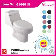 American dual flush porcelain one piece toilet