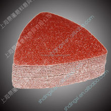 cheap abrasive wood sandpaper fine sand paper for triangle sander