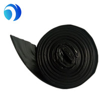 HDPE/LDPE black plastic garbage bag trash bag waste bag with recycled material