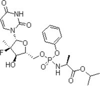 Sofosbuvir, CAS: 1190307-88-0, Assay: 98.5%~101.5%