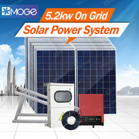 Easy installation solar power 5 kw system with 25 years warranty for home
