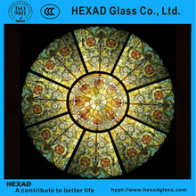 Hexad plastic stained glass sheets