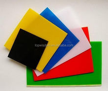 Low price top sell green acrylic plexiglass sheet