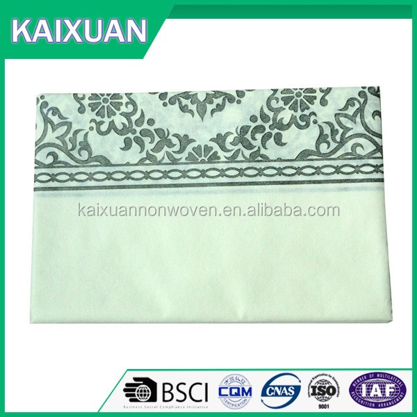 OEM 100% disposable table cloth PP Spunbond Nonwoven Fabrics