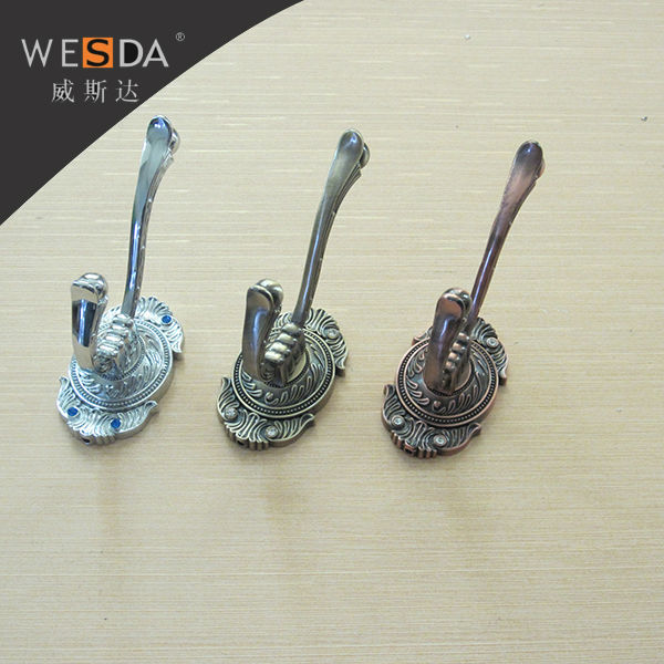 Wesda Antique Cast Iron Decorative Wall Coat Hooks Coat