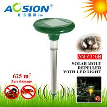 Aosion patent designed ultrasonic anti groundhog with LED light fast delivery