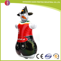 Promotion lovely Inflatable Animal Can be customized panda foil balloon