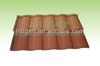 Roof Tile /Colorful Sand Coated Metal Roof