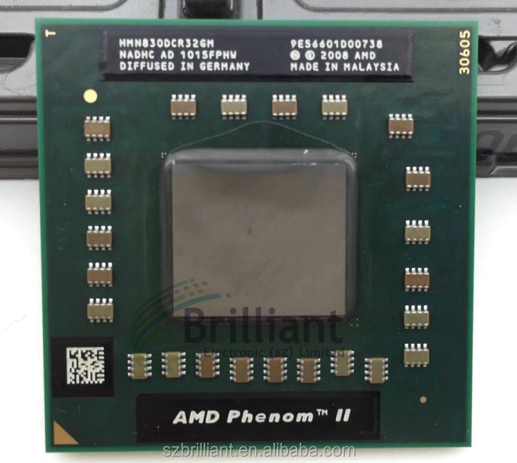 AMD phenom N830 CPU HMN830DCR32GM Socket S1 (S1g4) 2.1G processor
