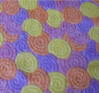 soft color shu veleteen fabric for kid toys garments cloak
