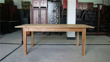 natural french reclaimed wood table furniture