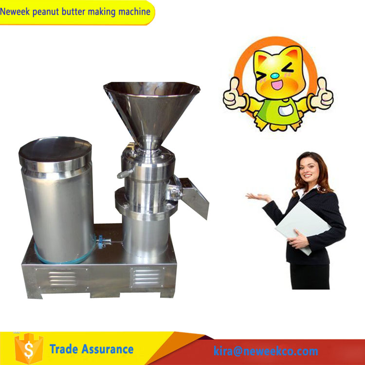 NEWEEK stainless steel colloid pepper tomato sauce making machine