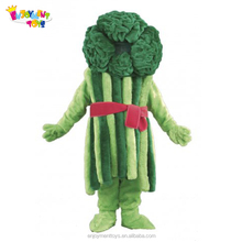 Enjoyment CE cheap Vegetable Broccoli Mascot Costume for sale