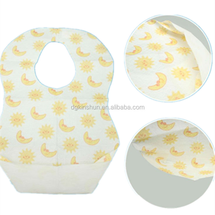 Ideal for Home & Travel- Disposable Baby Bibs & Placemats - 6 Ct Each