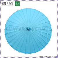 2015 hot sale paper parasols wholesale auto umbrella