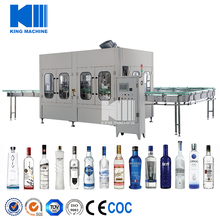 Liquor Whisky Brandy Vodka Filling Plant/Machine/Equipment
