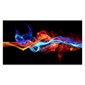 1 Piece Color Smoke Light and Shadow Photo Canvas Prints Modern Giclee Painting Wall Picture for Living Room/SJMT1907