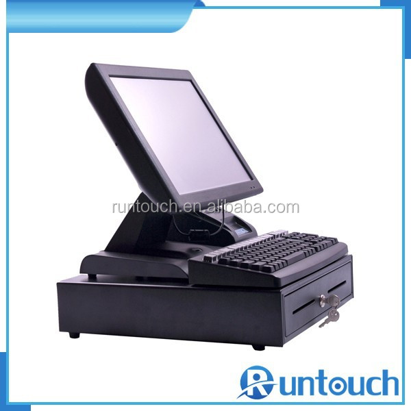 Runtouch RT-6800A Retail POS Package complete set POS equipment with cash drawer and thermal printer
